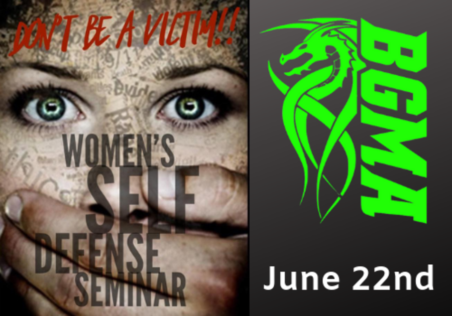 Sign up for a women's self defense seminar for teens and adults at Battleground Martial Arts in Alabaster, Alabama, near Birmingham