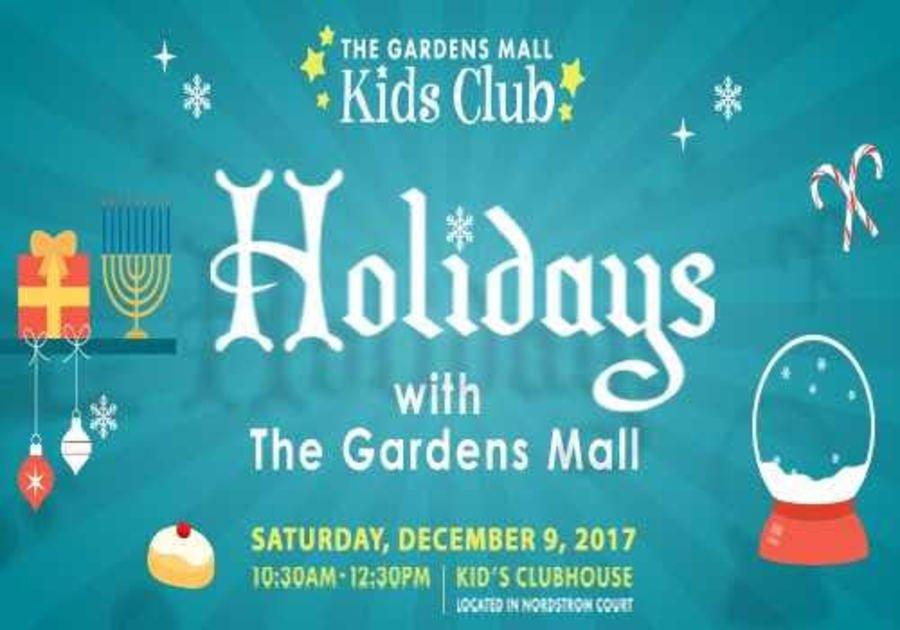 Gardens Mall Kids Club Holiday Event