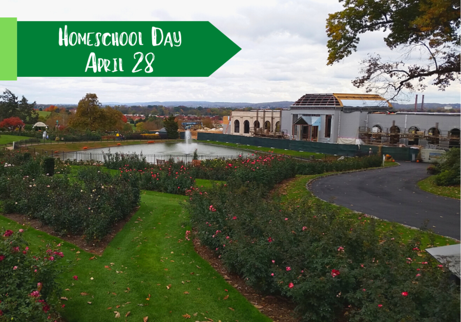 Homeschool Day at Hershey Gardens on April 28
