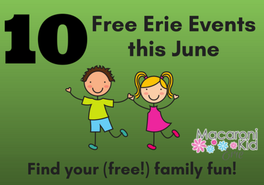 10 Free Erie Events for Kids this June