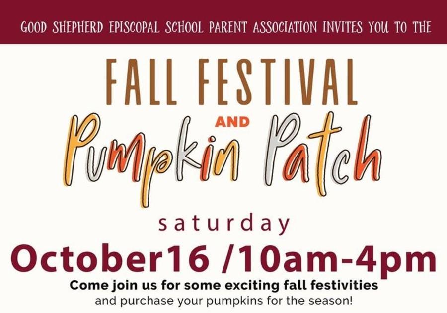Good Shepherd Episcopal School Pumpkin Patch