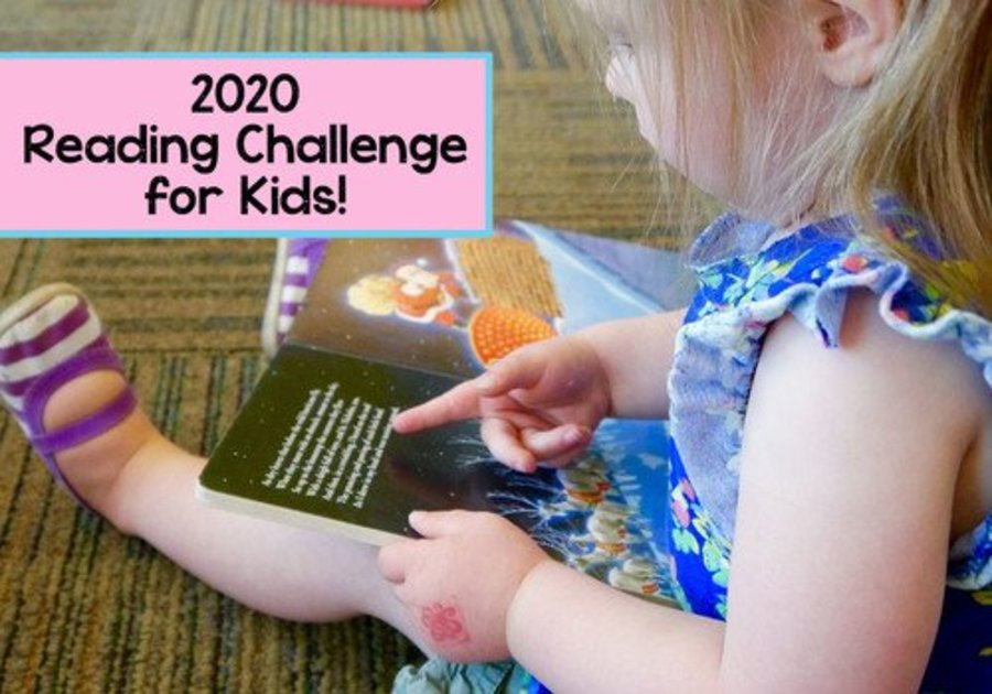 2020 reading challenge for kids