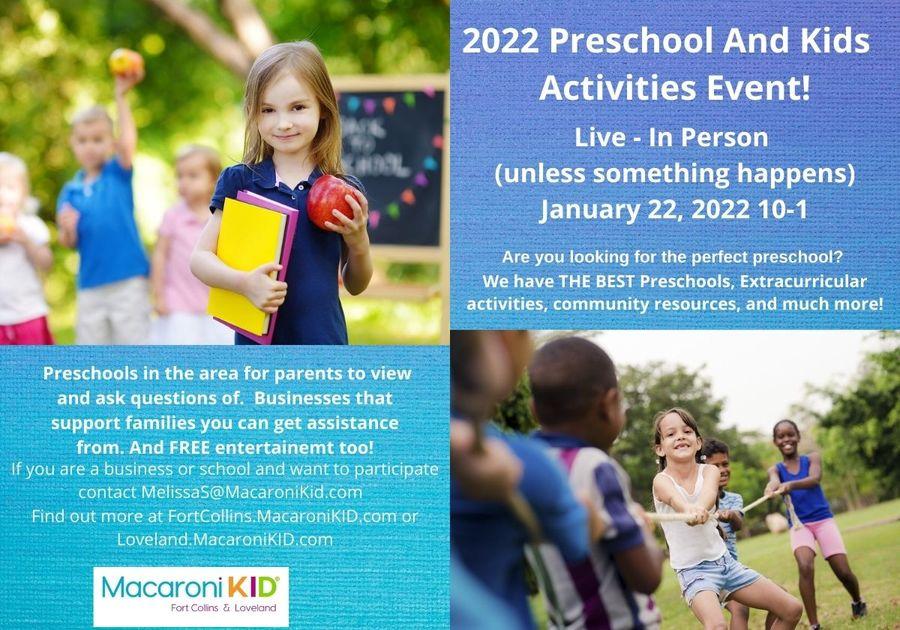 2022 Preschool Fair Block