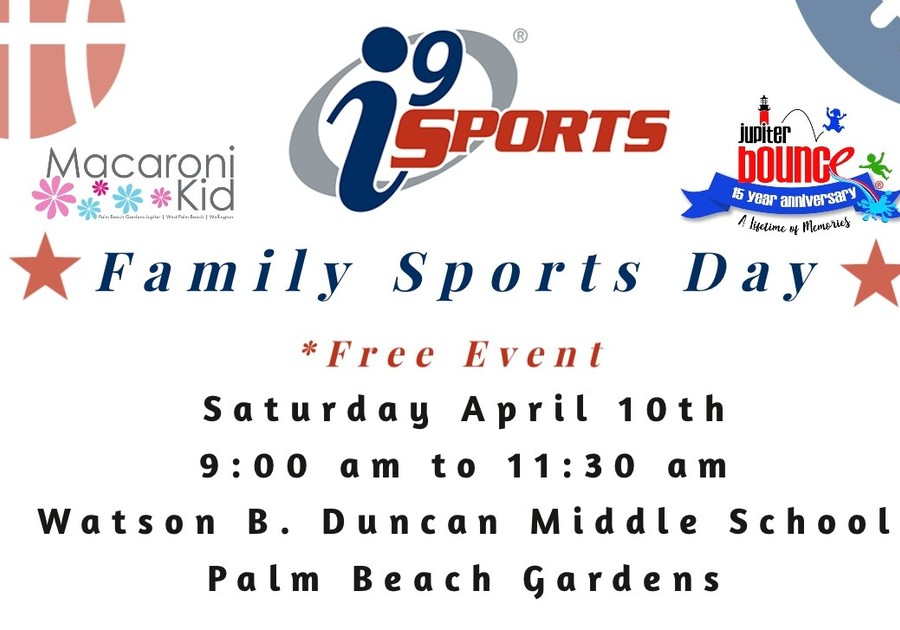 Family Sports Day: Free Event with i9 Sports