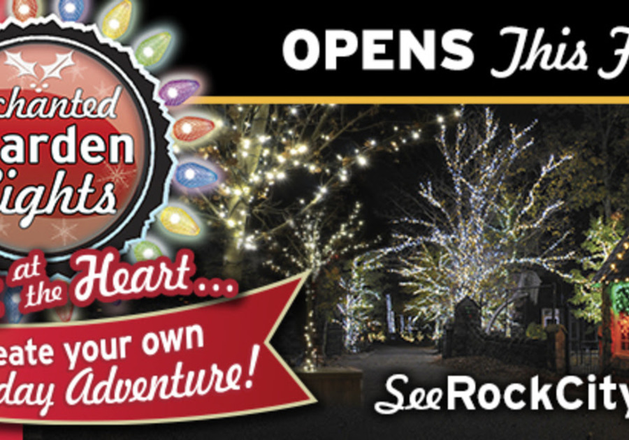 Rock City S Enchanted Garden Of Lights Opens This Friday Macaroni Kid Chattanooga