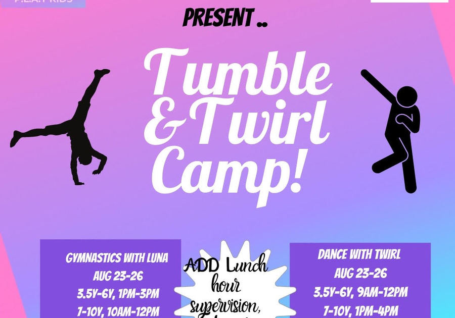 Tumble & Twirl Summer Camp in Chestermere