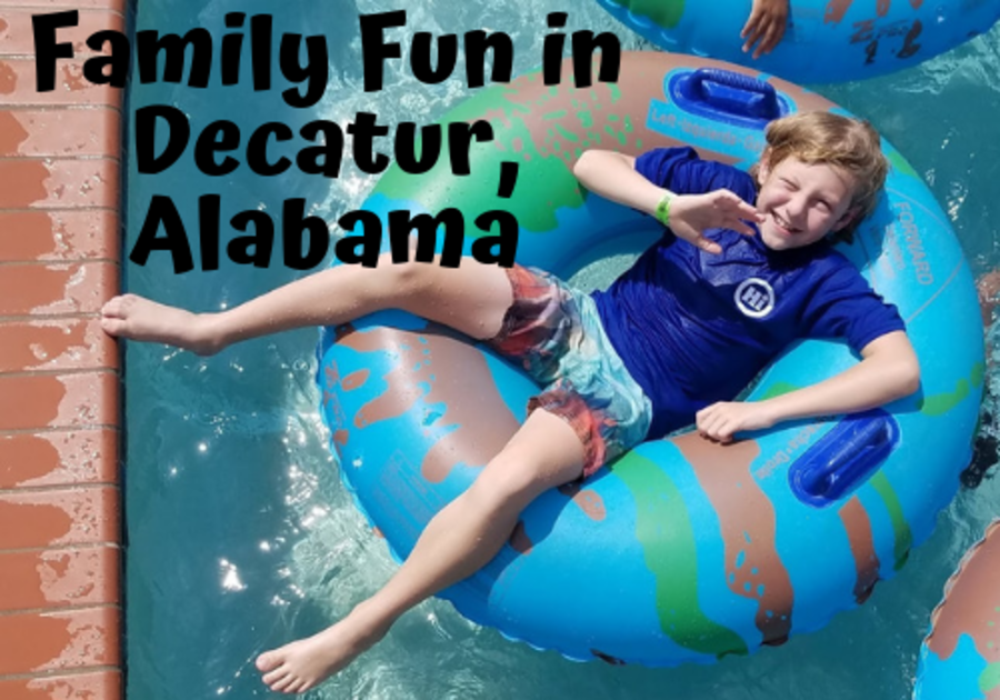 Family fun and things to do with kids in Decatur, Alabama, only two hours from Birmingham