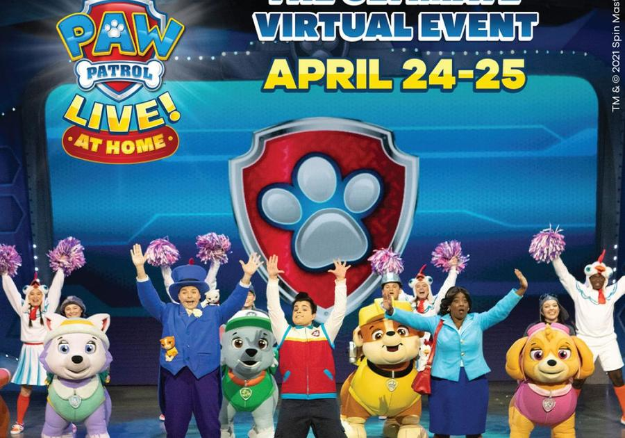 Paw Patrol Ultimate Virtual Event: Live at Home! April 24 and 25