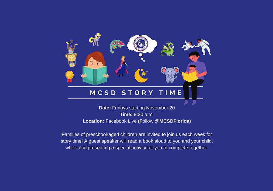 Martin County School District 2020 Virtual Story Time
