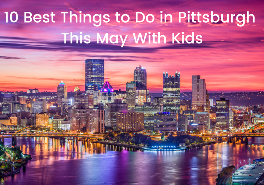 Pittsburgh, PA city sky line