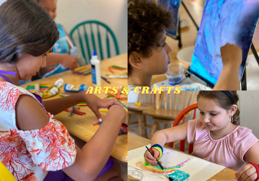House of Music 2021 Summer Camp Arts & Crafts