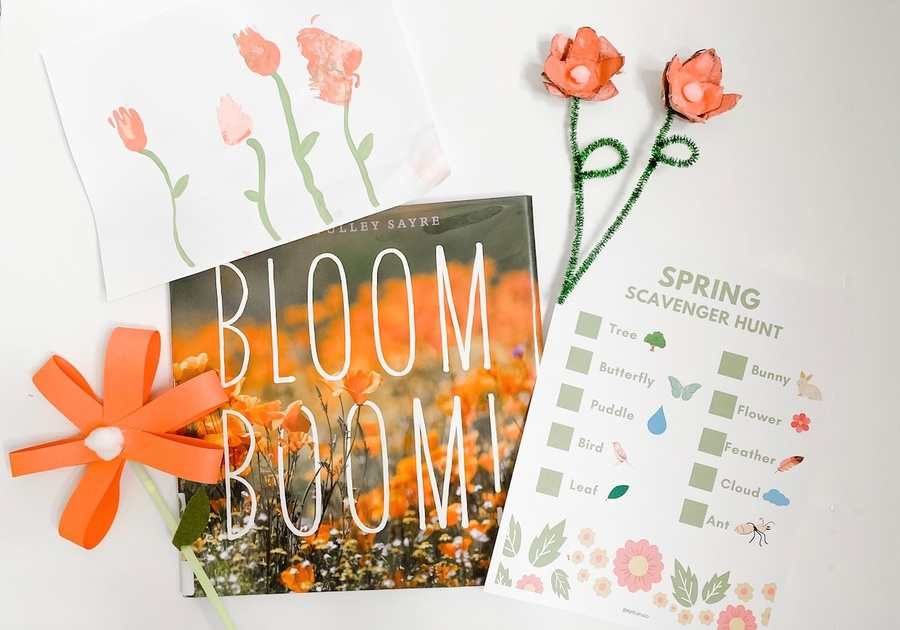 Kelly Caruso Spring Craft for Kids8