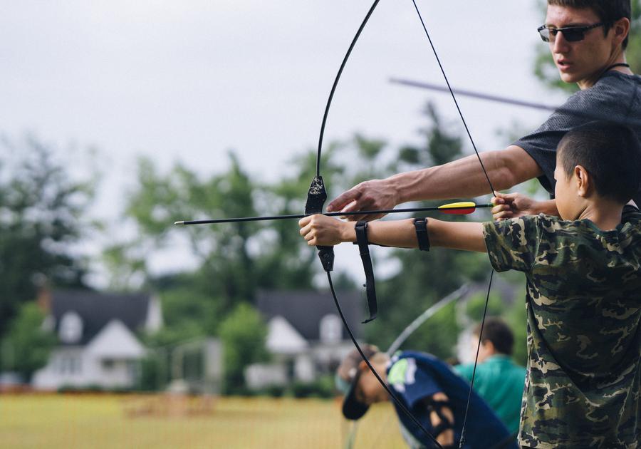 Cranbrook Summer Camps archery