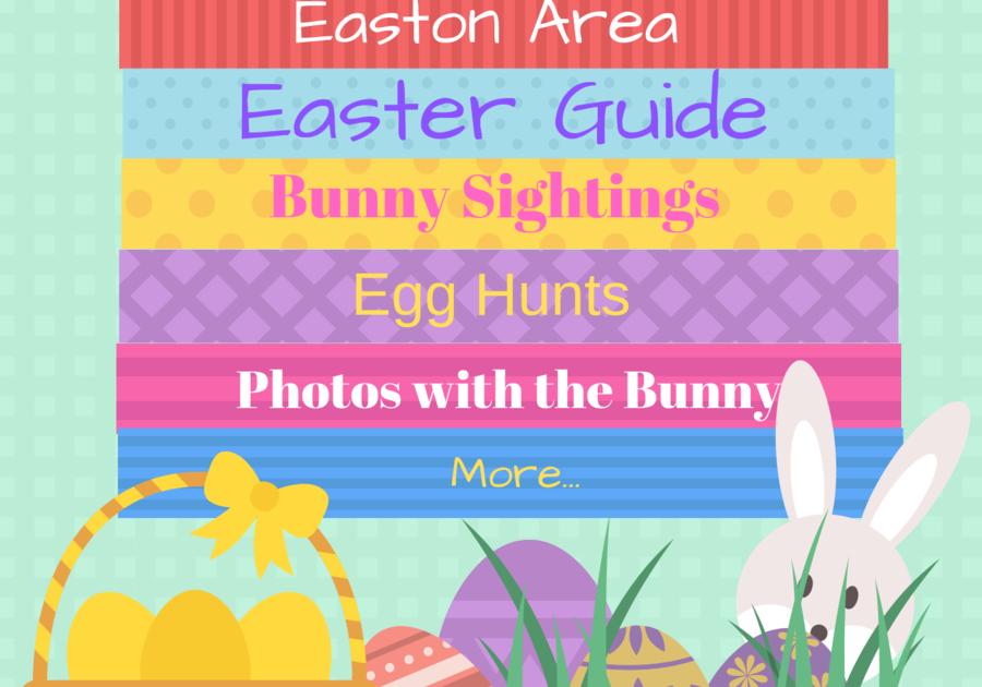Easter Guide Easter PA 2019 bunny, egg hunts, photos, celebration