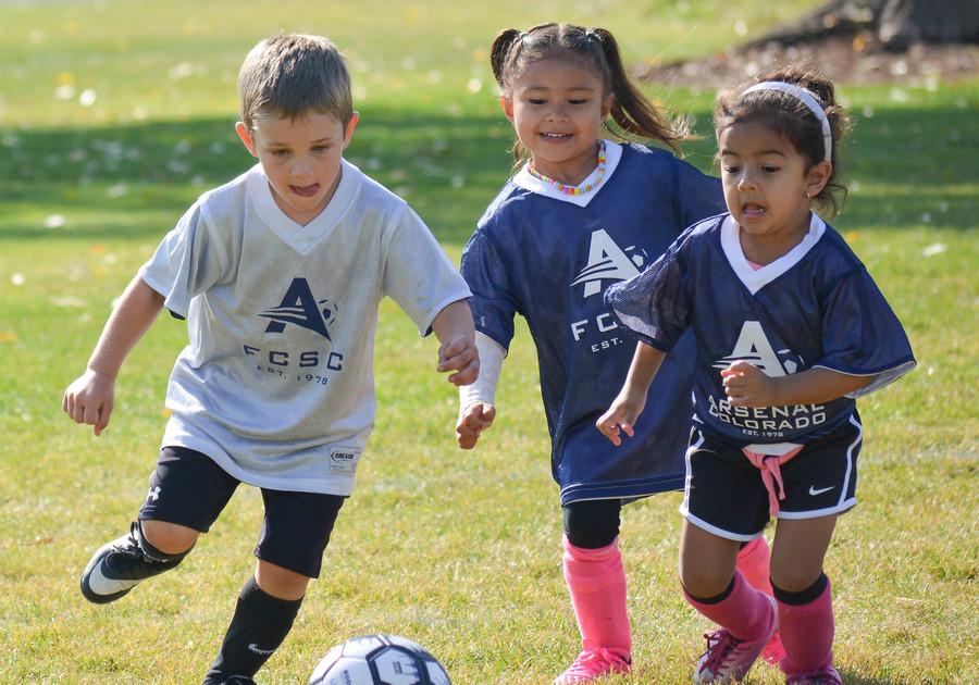 Little Runners Arsenal Colorado