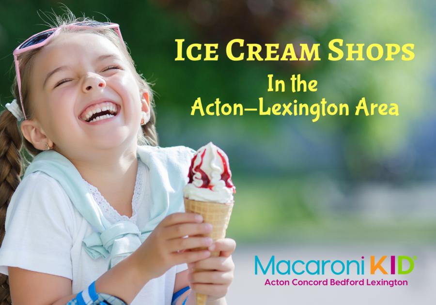 Girl with ice cream cone