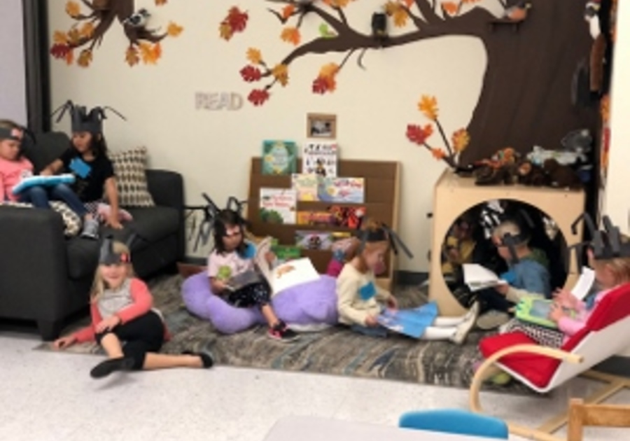 Reading Time at Open Arms