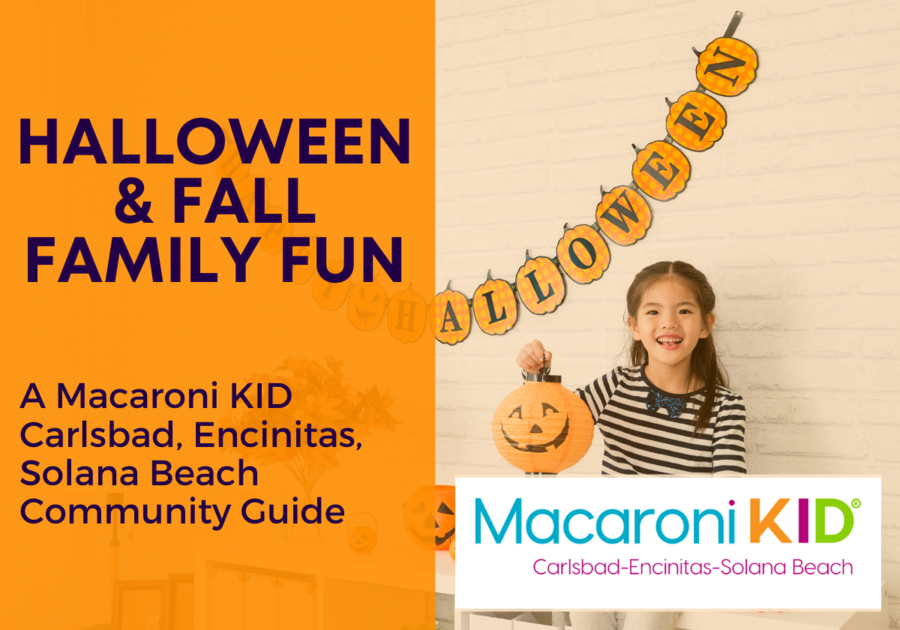 Halloween & Fall Family Fun in Carlsbad, Encinitas, Solana Beach