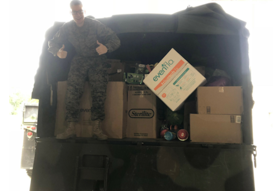 Toys for Tots in Erie