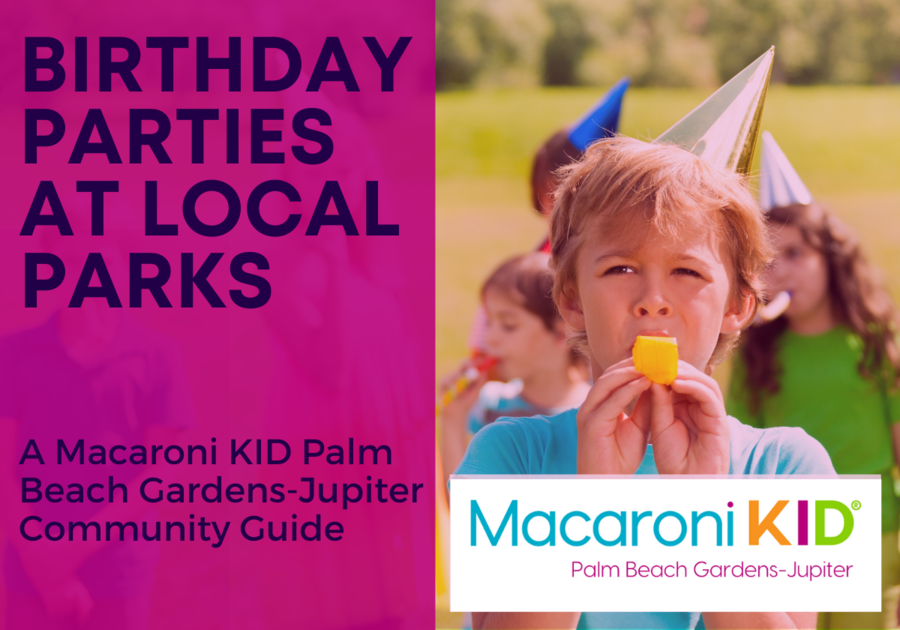 Birthday Parties at Local Parks