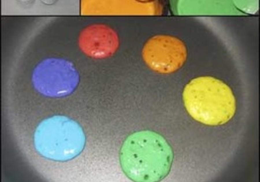 Fun with Pancakes Shamrocks, Rainbows and More