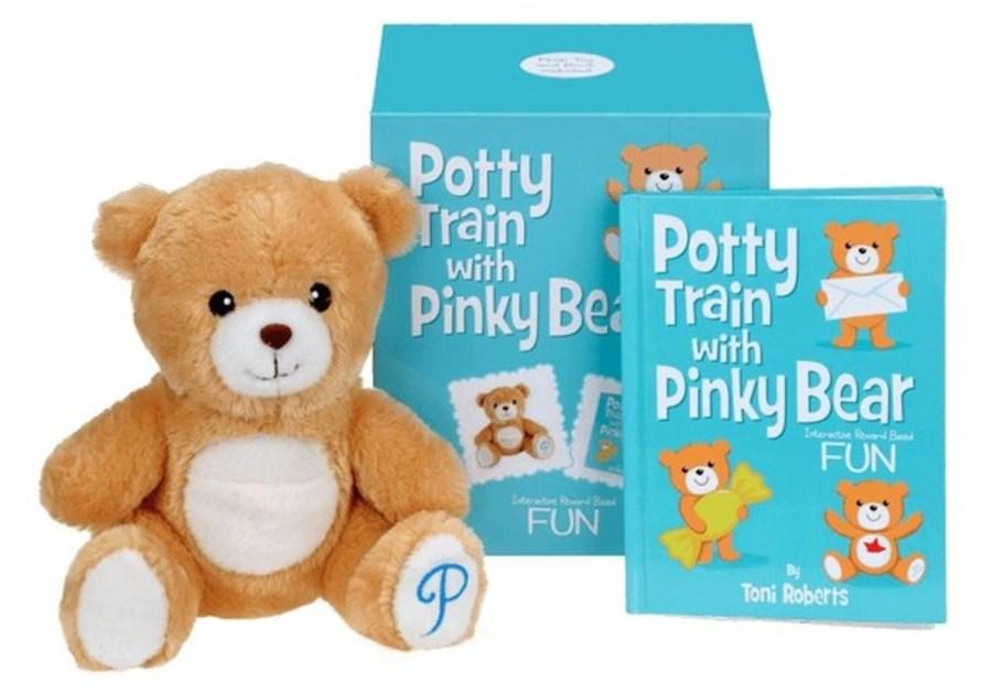 Potty Train With Pinky Bear