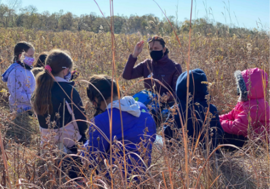 Linn County Conservation Wickiup Hill Learning Center Iowa Family Fun Winter Fall Outdoor Programing