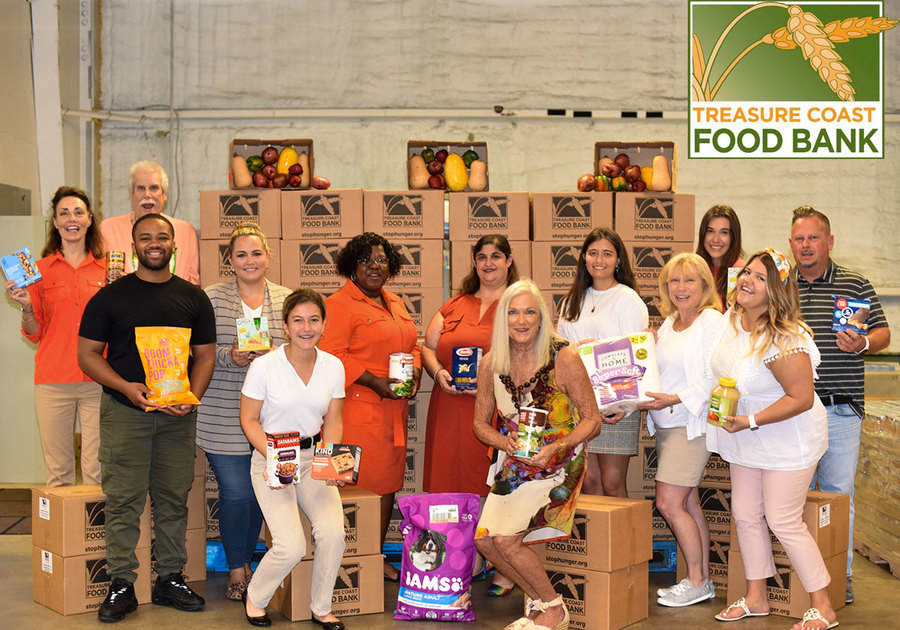 Treasure Coast Food Bank 2021 Hunger Action Month Committee