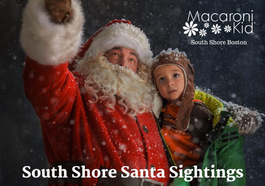 Santa Sightings on Boston's South Shore