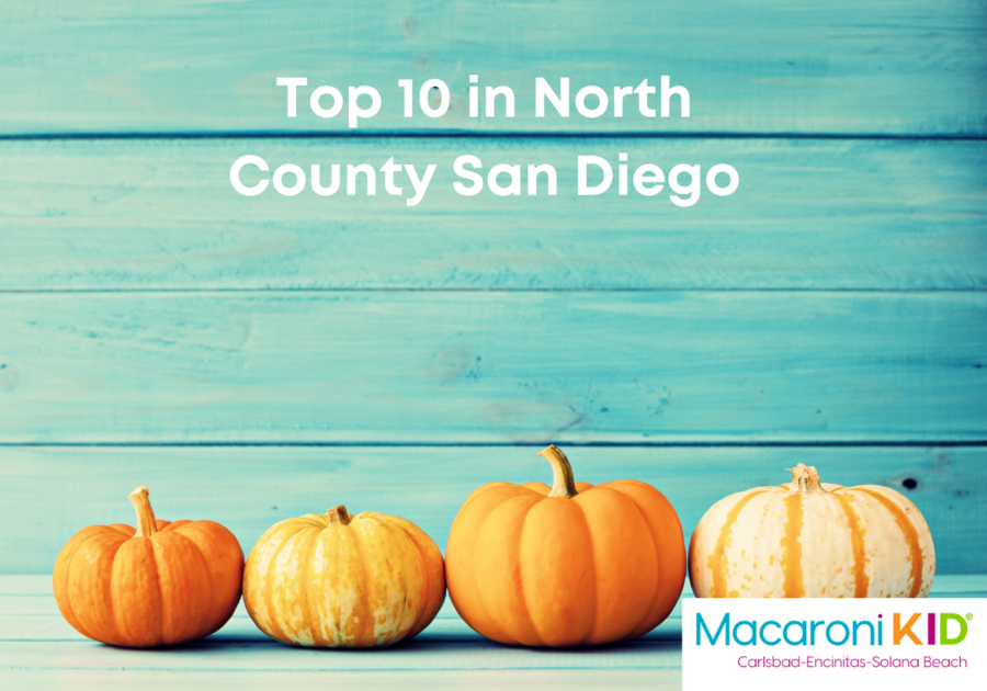 Top 10 in North County San Diego Halloween and Fall Events