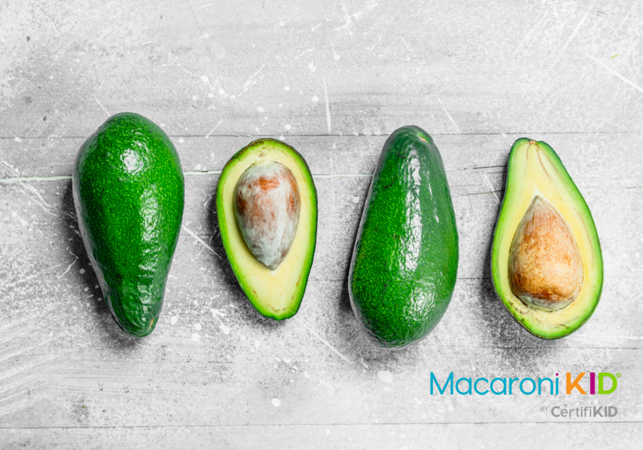 Avocado and Avocado Halves