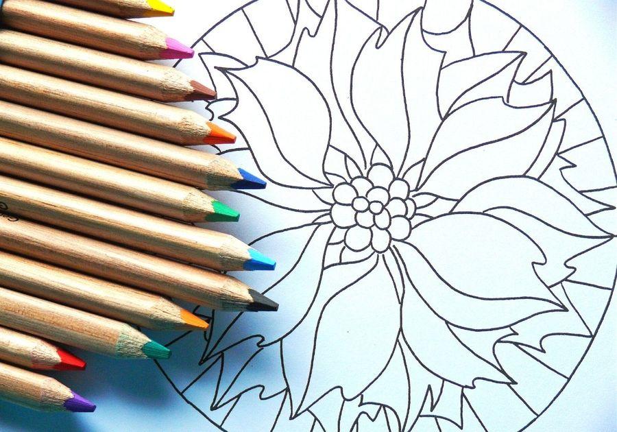 Adult Mandala Coloring Pages