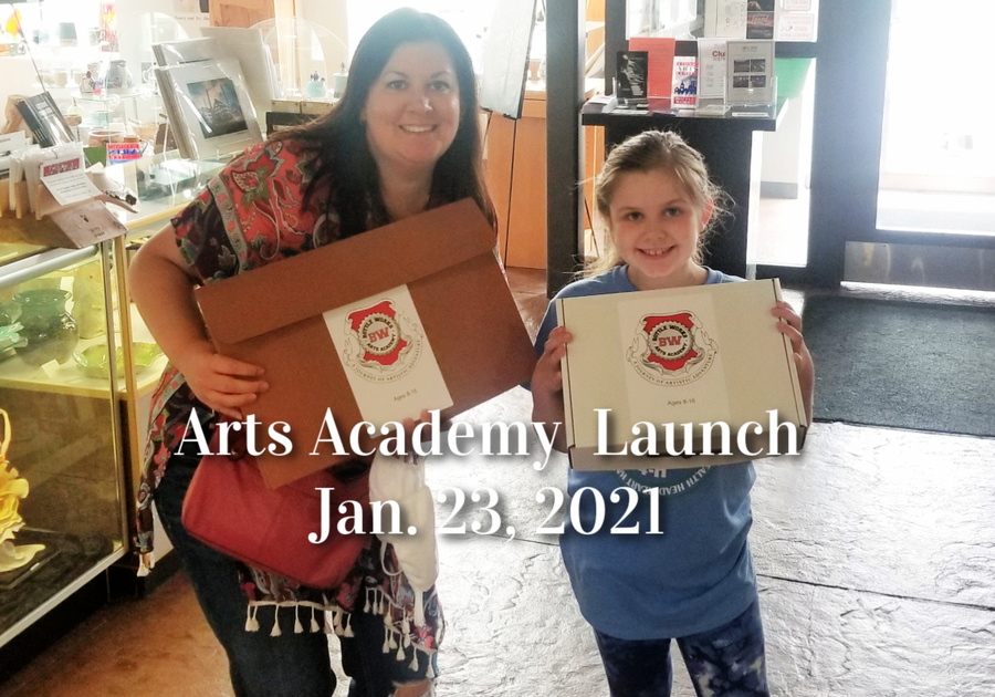 Arts Academy launch at the BottleWorks 2021