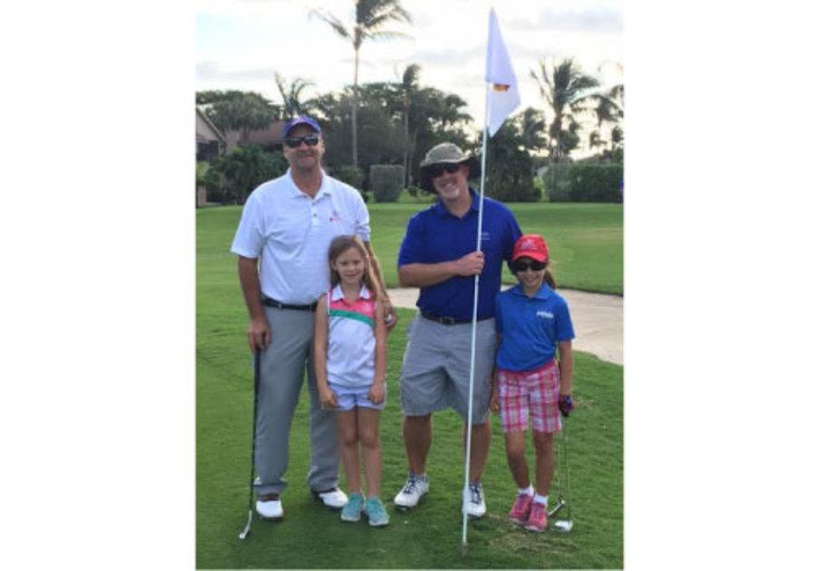 First Tee Treasure Coast dads and Girls Golf