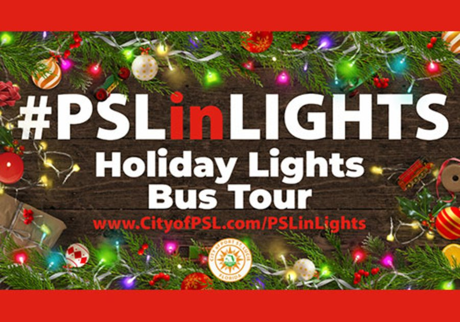 City of PSL Holiday Bus Tour