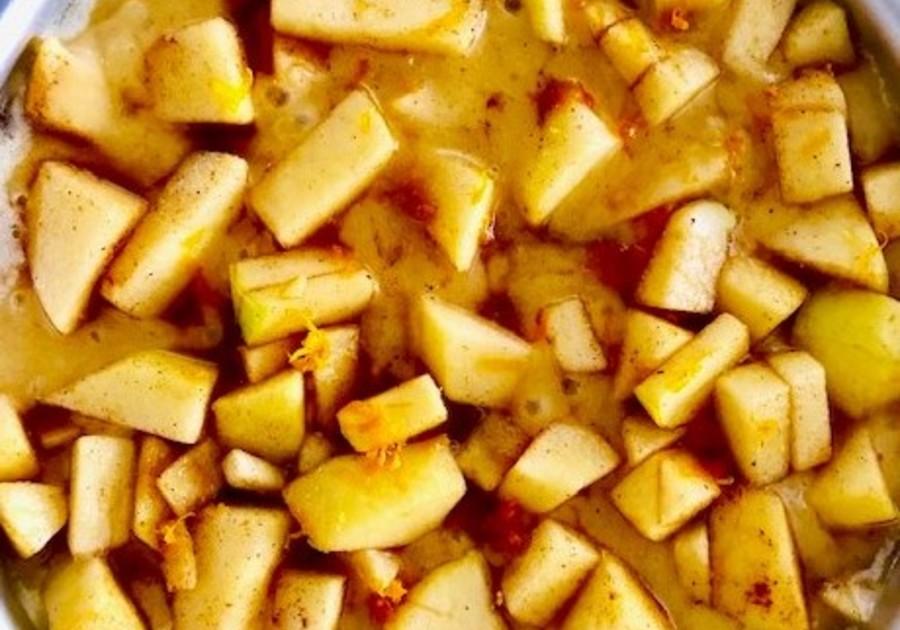 Apple spice pie, apple pie