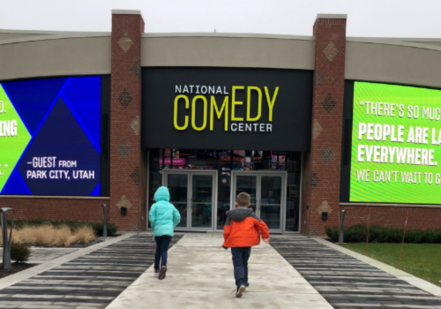 National Comedy Center a great place for families