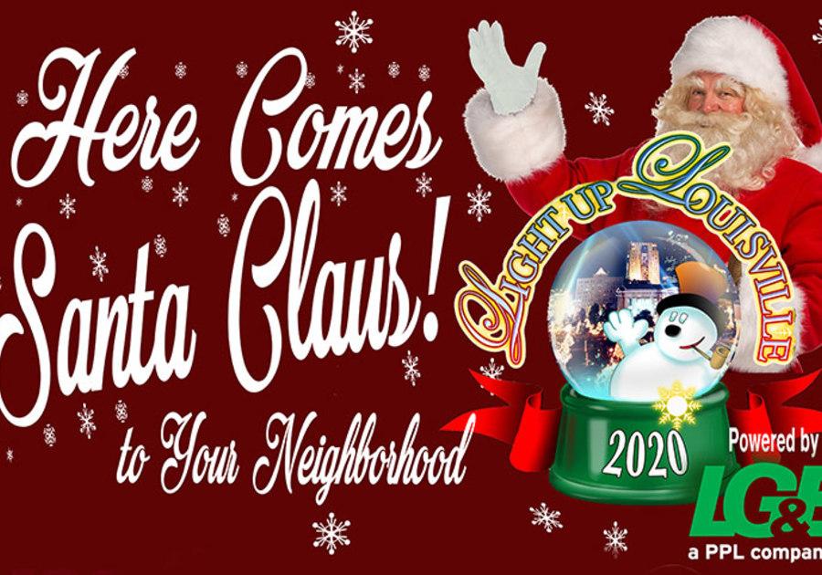 Louisville Radio Christmas Music 2021 Nominate Your Neighborhood For Here Comes Santa Claus Christmas Convoy Macaroni Kid Louisville East