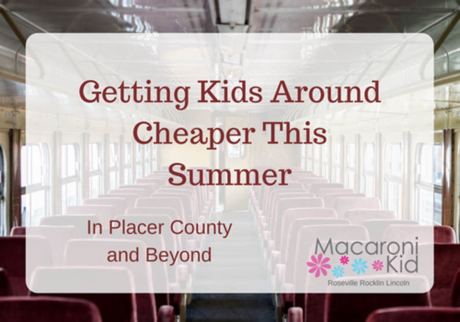 Kids Get Around Cheaper this Summer in Placer County