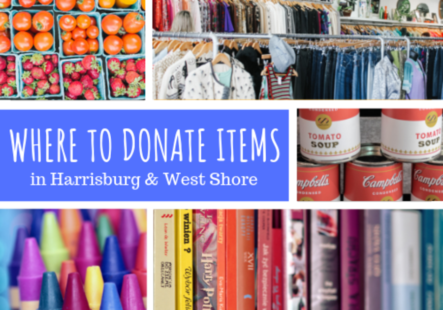 Donate household items plates food harrisburg pa central pennsylvania mechanicsburg non-profit charity help assistance food clothing canned goods food pantry things to do activities family child kids