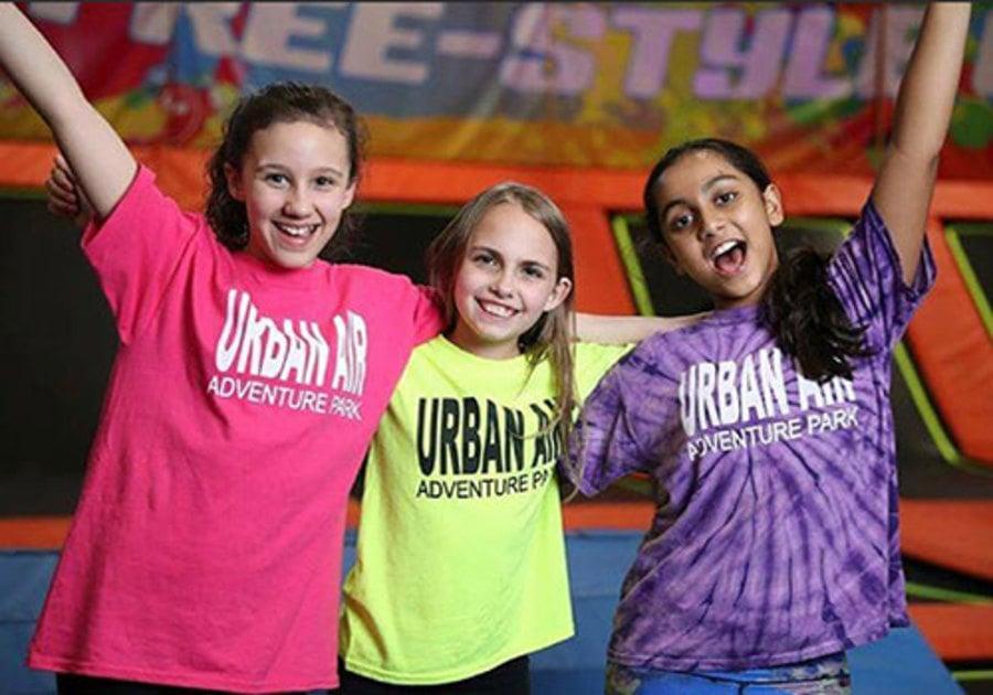 Urban Air Adventure Park happy girls