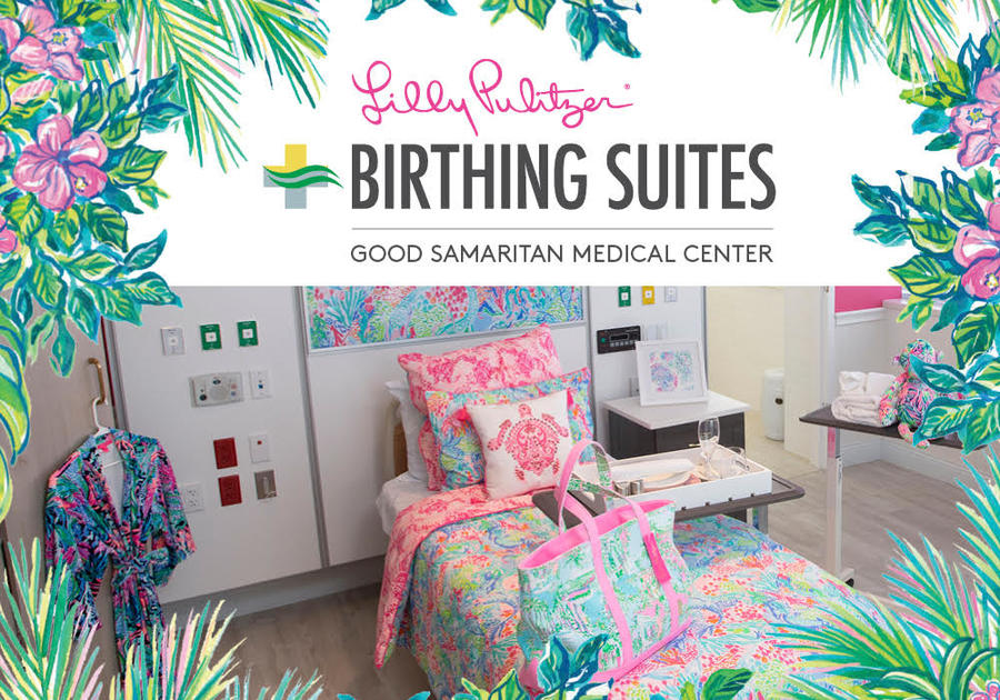 Lilly Pulitzer Birthing Suites Now Open at the Good Samaritan Medical Center