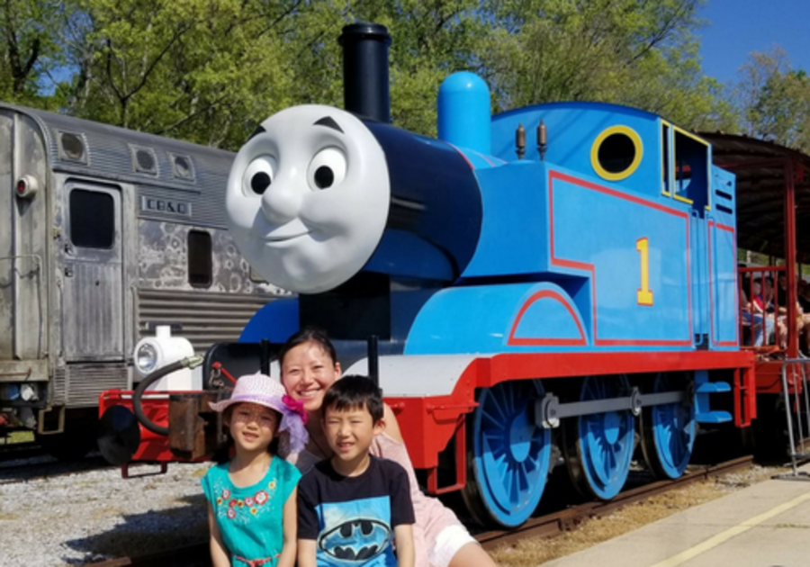 Mac Kid Junior Reporters get the scoop on Day Out With Thomas at Heart of Dixie Railroad Museum