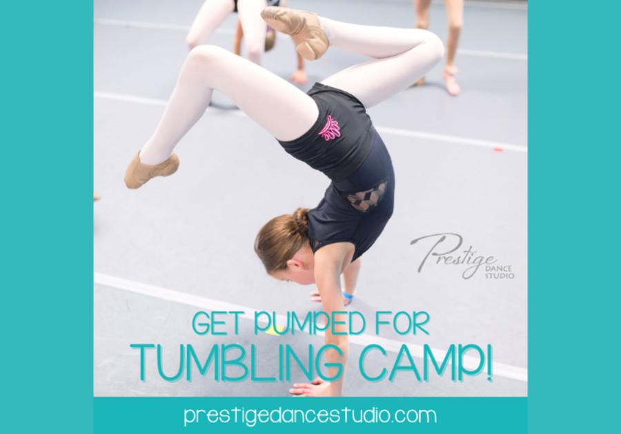 Prestige Dance Studio Tumbling Camp Cedar Rapids 2021